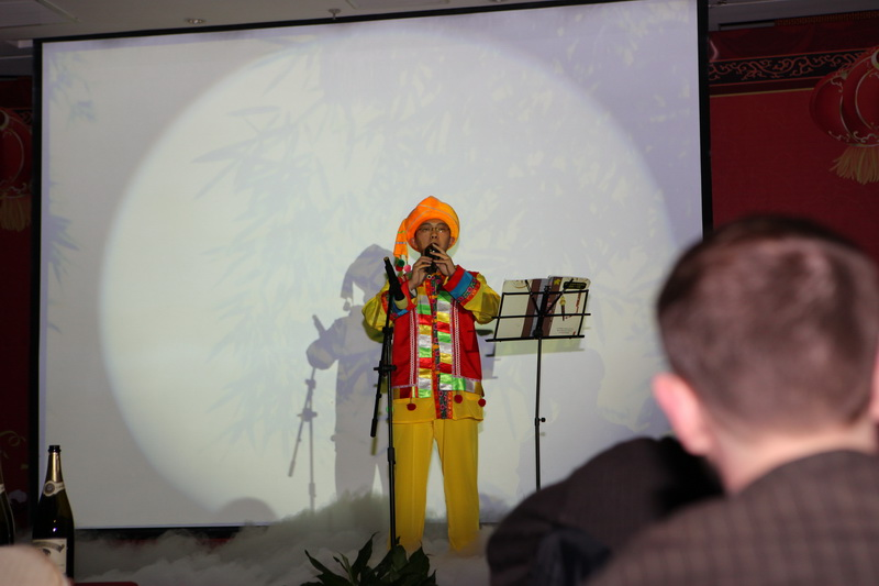 全场大合唱《北京欢迎你》